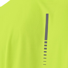 asics SS Top Hardloopshirt korte mouwen Heren geel